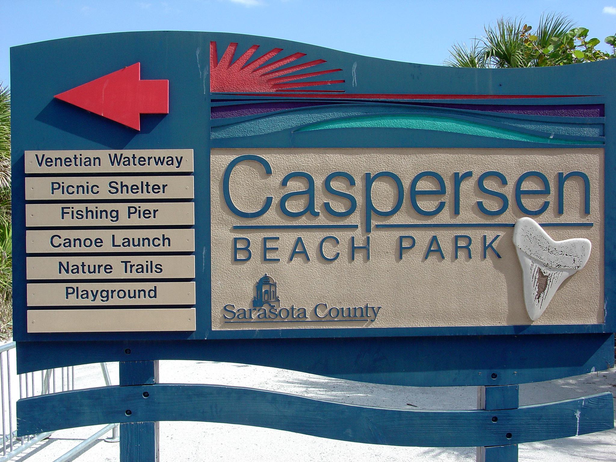 Caspersen Beach Florida Sharks Teeth